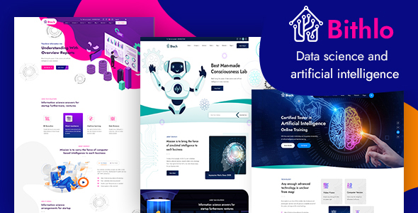 [Free Download] Bithlo – Data Science & Artificial Intelligence HTML Template (Nulled) [Latest Version]