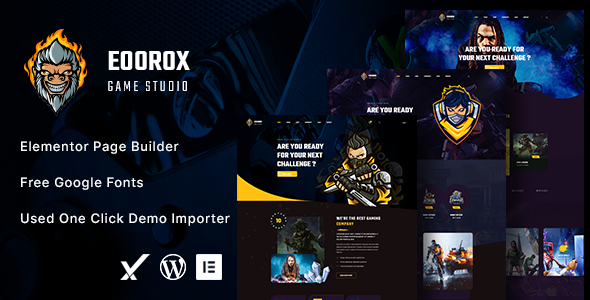 [Free Download] Eoorox – Gaming and eSports WordPress Theme (Nulled) [Latest Version]