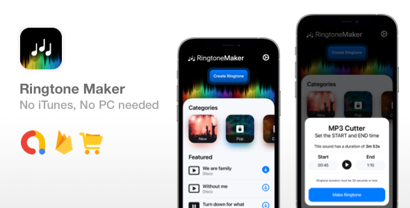[Free Download] Ringtone Maker – SwiftUI Ringtone App – No iTunes or PC needed (Nulled) [Latest Version]