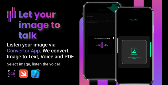 [Free Download] ConvertorApp | iOS Image to Text & Speech and PDF (Nulled) [Latest Version]
