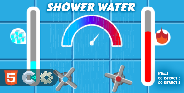 [Free Download] Shower Water HTML5 Construct 2/3 (Nulled) [Latest Version]