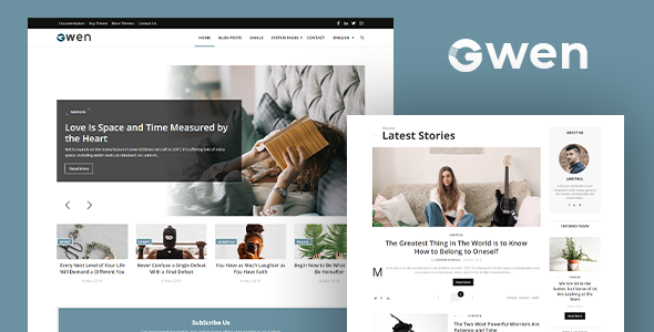 [Free Download] Gwen – Blog and Magazine Joomla Theme (Nulled) [Latest Version]