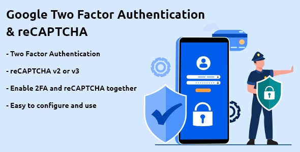 [Free Download] Google Two Factor Authentication & reCAPTCHA for WordPress (Nulled) [Latest Version]