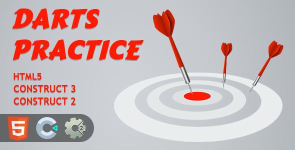 [Free Download] Darts Practice HTML5 Construct 2/3 Game (Nulled) [Latest Version]