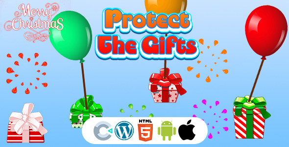 [Free Download] Protect The Christmas Gifts Game (Construct 3   C3P   HTML5) Christmas Game (Nulled) [Latest Version]