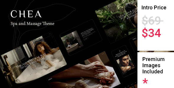 [Free Download] Chea – Spa and Massage Theme (Nulled) [Latest Version]