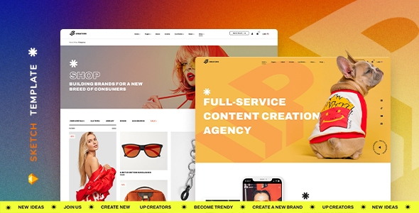 [Free Download] UpCreators – Creative Agency Template for Sketch (Nulled) [Latest Version]