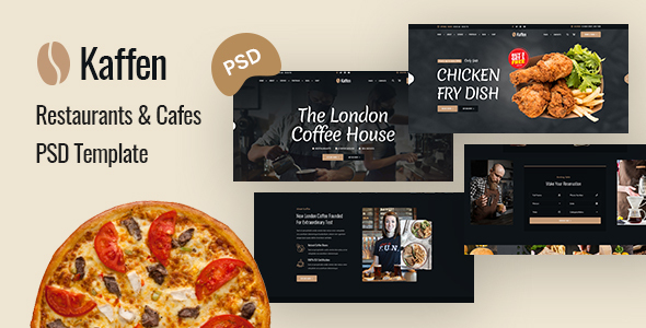 [Free Download] Kaffen – Coffe Shop & Restaurant PSD Template (Nulled) [Latest Version]