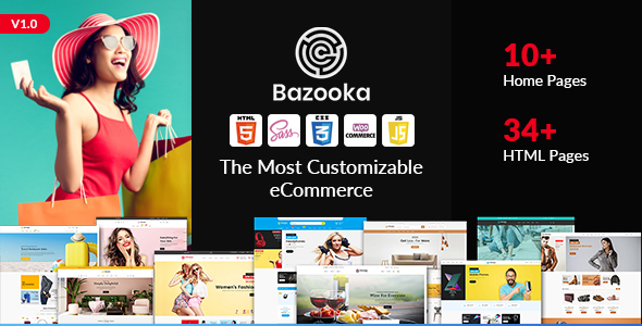 [Free Download] Bazooka shopping HTML template (Nulled) [Latest Version]
