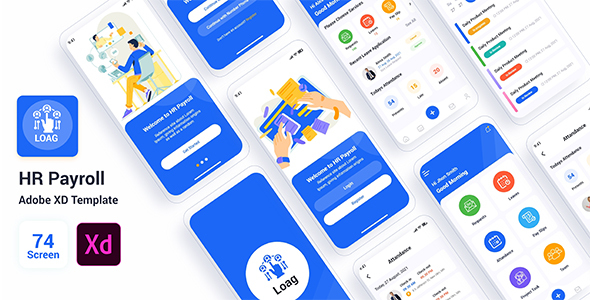 [Free Download] Loag – HR Payroll Adobe XD Template (Nulled) [Latest Version]