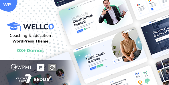 [Free Download] Wellco – Coach Online Courses WordPress (Nulled) [Latest Version]