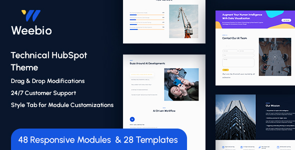 [Free Download] Weebio Technical HubSpot Theme (Nulled) [Latest Version]