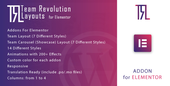 [Free Download] Team Revolution Layouts for Elementor (Nulled) [Latest Version]