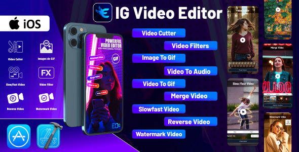 [Free Download] IG Video Editor – iOS Source Code (Nulled) [Latest Version]