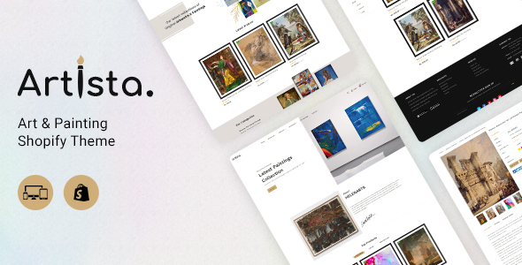 [Free Download] Artista – Artist & Painting Designers Agency Shopify (Nulled) [Latest Version]