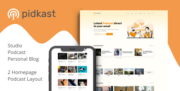 [Free Download] Pidkast – Ghost Multipurpose Blog Theme (Nulled) [Latest Version]