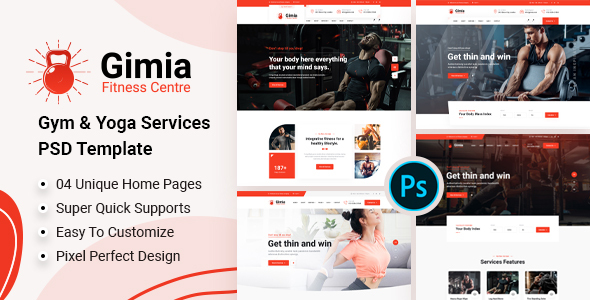 [Free Download] Gimia – Gym & Yoga Services PSD Template (Nulled) [Latest Version]