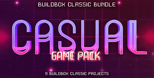 [Free Download] 9 Buildbox Casual Game Pack (Nulled) [Latest Version]