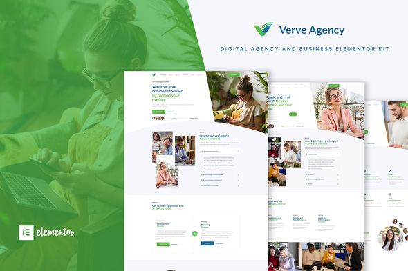 [Free Download] Verve – Creative & Business Elementor Template Kit (Nulled) [Latest Version]