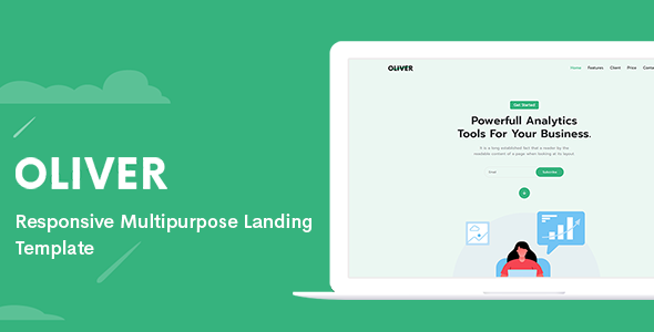 [Free Download] Oliver – Responsive Multipurpose Landing Template (Nulled) [Latest Version]