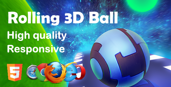 [Free Download] Rolling 3D Ball HTML5 Game (Nulled) [Latest Version]