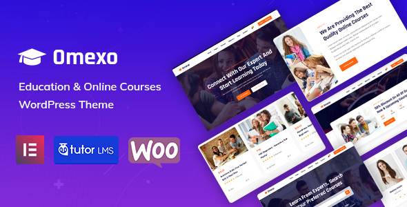 [Free Download] Omexo – Education WordPress Theme (Nulled) [Latest Version]