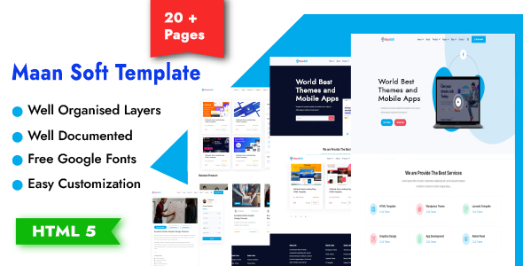 [Free Download] MaanSoft-Digital Marketplace HTML Template (Nulled) [Latest Version]