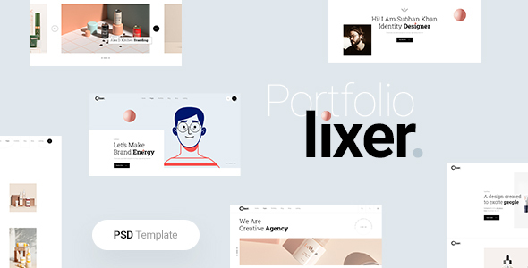 [Free Download] Lixer – Portfolio PSD Template (Nulled) [Latest Version]