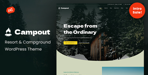[Free Download] Campout – RV Resort & Campground WordPress Theme (Nulled) [Latest Version]