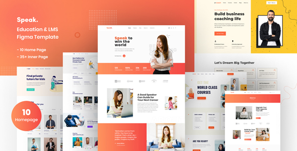[Free Download] Speak | Education & LMS Figma Template (Nulled) [Latest Version]