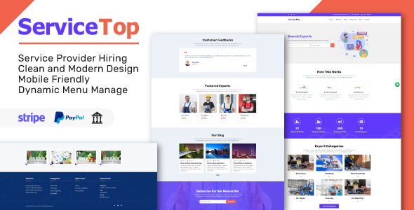 [Free Download] ServiceTop – Professional Service Selling Marketplace (Nulled) [Latest Version]