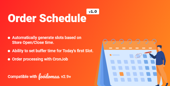 [Free Download] Order Schedule Module for Foodomaa (Nulled) [Latest Version]
