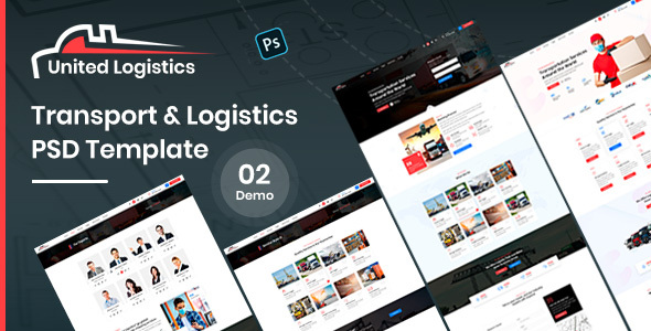 [Free Download] United – Logistics PSD Template (Nulled) [Latest Version]