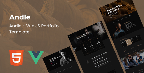 [Free Download] Andle – Vue JS Portfolio Template (Nulled) [Latest Version]
