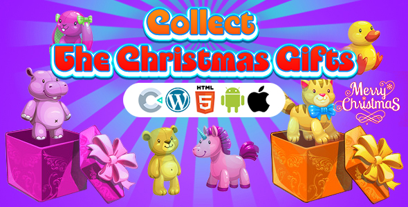 [Free Download] Collect The Christmas Gifts Game (Construct 3   C3P   HTML5) Christmas Game (Nulled) [Latest Version]