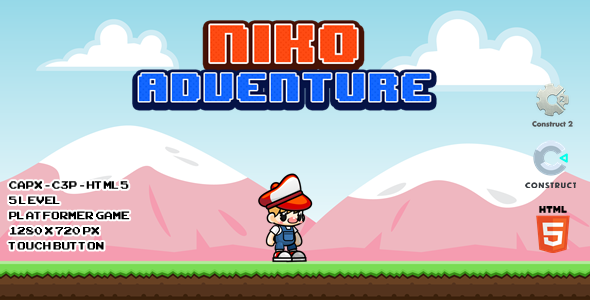 [Free Download] Niko Adventure – CAPX I C3P I HTML5 Game (Nulled) [Latest Version]