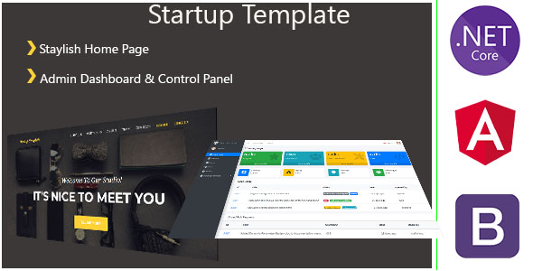 [Free Download] AgencyST – Angular 10 / .Net Core / Startup Template – Admin Panel & Stylish Home Page (Nulled) [Latest Version]