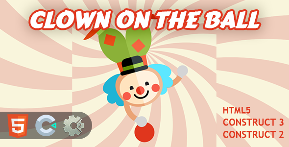 [Free Download] Clown on the Ball! HTML5 Construct 2/3 Game (Nulled) [Latest Version]
