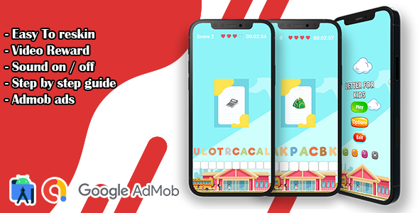 [Free Download] Letter For Kids – Back To School Learn Game (Nulled) [Latest Version]
