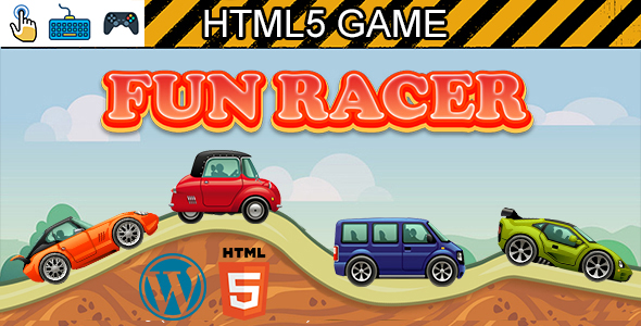 [Free Download] Fun Racer Game (HTML5) Car Racing Game (Nulled) [Latest Version]