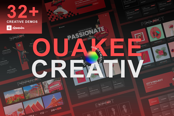 [Free Download] Ouakee – Creative Company & Professional Portfolio  Elementor Template Kit (Nulled) [Latest Version]
