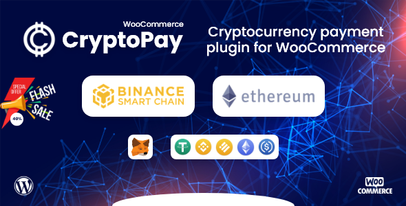 [Free Download] CryptoPay WooCommerce – Cryptocurrency payment plugin (Nulled) [Latest Version]