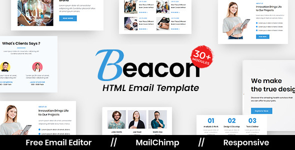 [Free Download] Beacon Agency – Multipurpose Responsive Email Template (Nulled) [Latest Version]