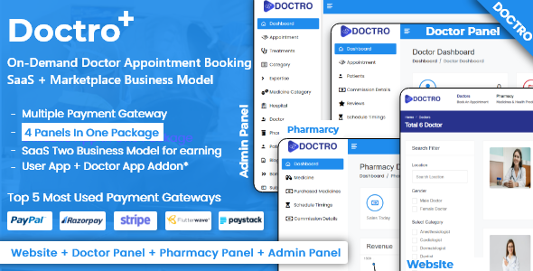 [Free Download] On-Demand Doctor Appointment Booking SaaS Marketplace Business Model (Nulled) [Latest Version]