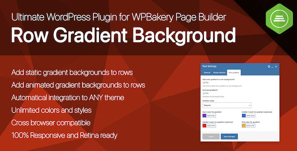 [Free Download] Ultimate Row Gradient Background for WPBakery Page Builder WordPress plugin (Nulled) [Latest Version]