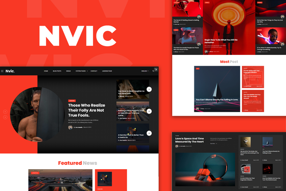 [Free Download] Nvic – Blog & Magazine Elementor Template Kit (Nulled) [Latest Version]