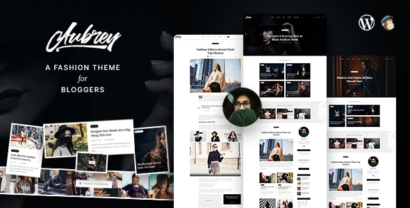 [Free Download] Aubrey – An Elegant WordPress Blog For Fashion Enthusiasts (Nulled) [Latest Version]