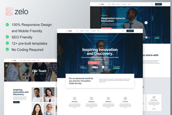 [Free Download] Zelo – Startup Business & Technology Company Elementor Template Kit (Nulled) [Latest Version]
