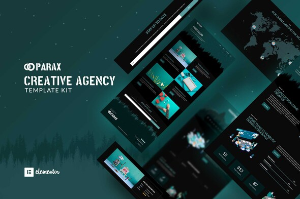 [Free Download] Parax – Creative Agency Elementor Template Kit (Nulled) [Latest Version]