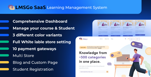 [Free Download] LMSGo SaaS- Learning Management System (Nulled) [Latest Version]